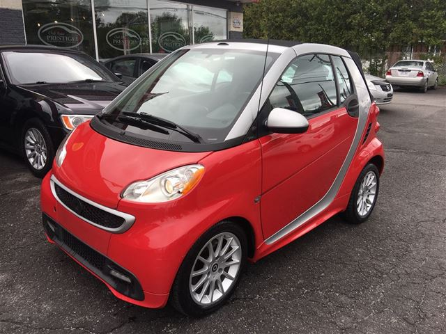 2013 SMART FORTWO **CONVERTIBLE*CREDIT 100% APPROUVE*** in St Eustache, Quebec