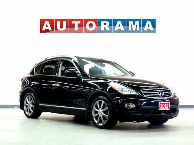 2012 INFINITI EX35 LEATHER SUNROOF 4WD in North York, Ontario