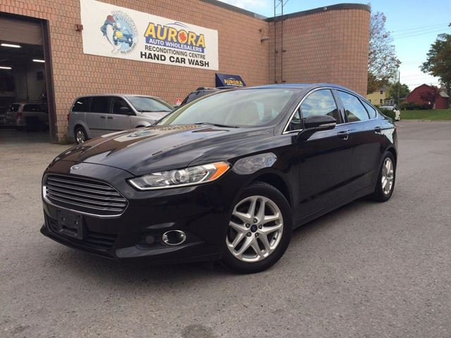 2013 Ford Fusion SE - LEATHER - MICROSOFT SYNC - ALLOYS in Aurora, Ontario
