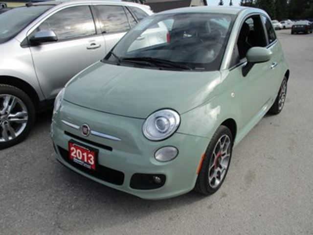2013 FIAT 500 'GREAT VALUE' 5-SPEED MANUAL 'SPORT - EDITION'  in Bradford, Ontario