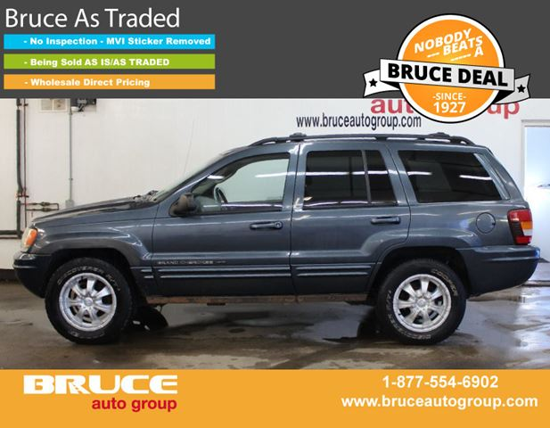 2002 JEEP GRAND CHEROKEE Limited 4.7L 8 CYL AUTOMATIC 4WD in Middleton, Nova Scotia