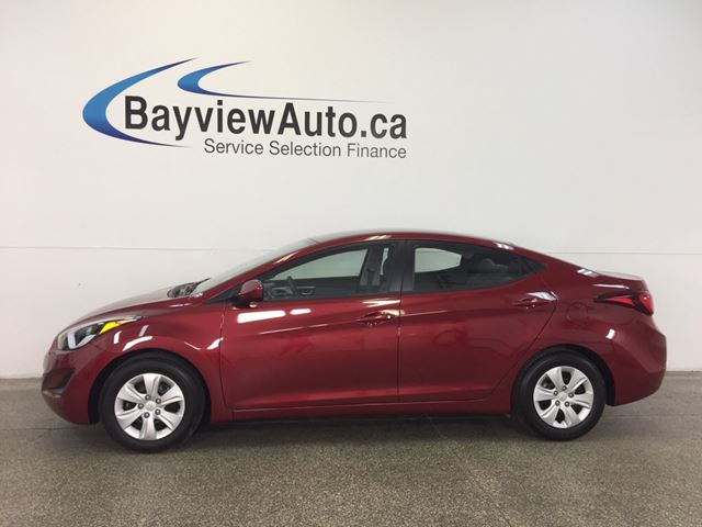 2016 HYUNDAI Elantra L- 6 SPEED! 1.8L! ECO MODE! A/C! BUDGET BUDDY! in Belleville, Ontario