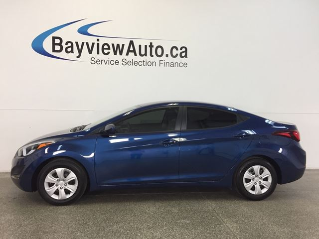 2016 HYUNDAI ELANTRA L- 1.8L! 6 SPEED! ECO MODE! BUDGET BUDDY! in Belleville, Ontario