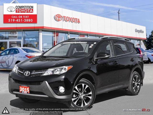 2015 TOYOTA RAV4 XLE One Owner, No Accidents, Toyota Serviced in London, Ontario