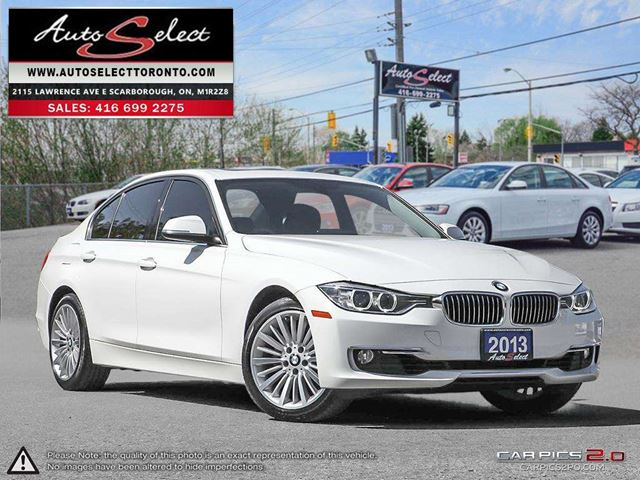 2013 BMW 3 SERIES 328 i xDrive AWD ONLY 89K! **LIGHTING PKG** CLEAN CARPROOF in Scarborough, Ontario