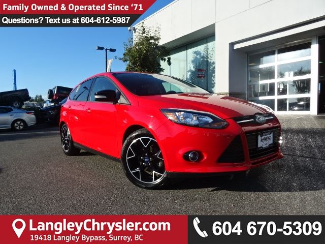 2013 FORD FOCUS SE *ACCIDENT FREE*ONE OWNER*LOCAL BC CAR* in Surrey, British Columbia