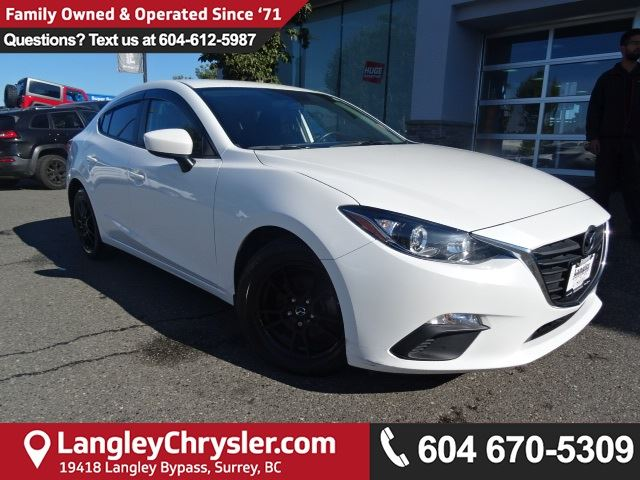 2015 MAZDA MAZDA3 GX in Surrey, British Columbia