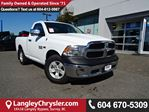 2016 Dodge RAM 1500 ST *ACCIDENT FREE*ONE OWNER*LOCAL BC TRUCK* in Surrey, British Columbia