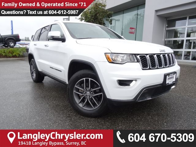 2017 JEEP GRAND CHEROKEE Limited in Surrey, British Columbia