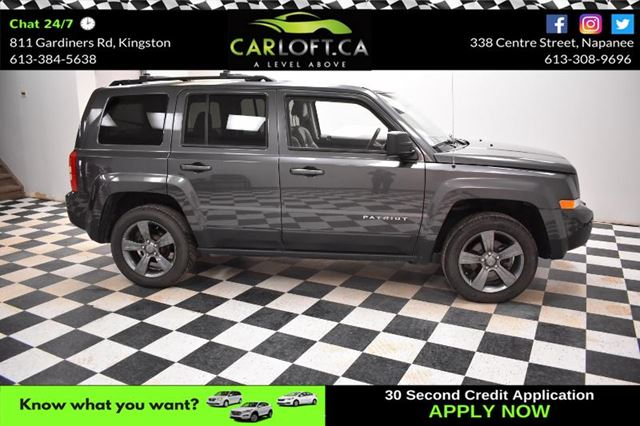 2015 JEEP PATRIOT Sport-BLUETOOTH**SAT RADIO**LEATHER in Kingston, Ontario