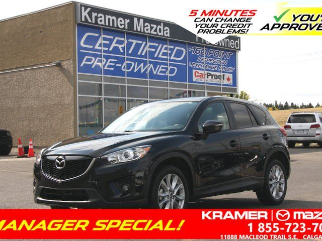 2015 MAZDA CX-5 GT w/TECH in Calgary, Alberta