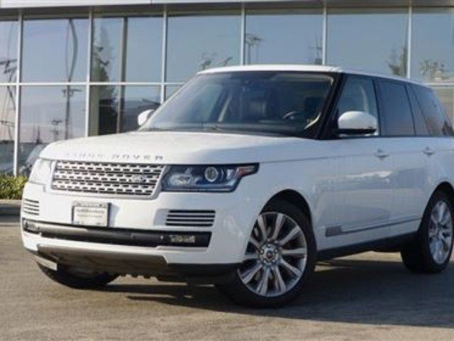 2013 LAND ROVER RANGE ROVER Supercharged (SC) in North Vancouver, British Columbia