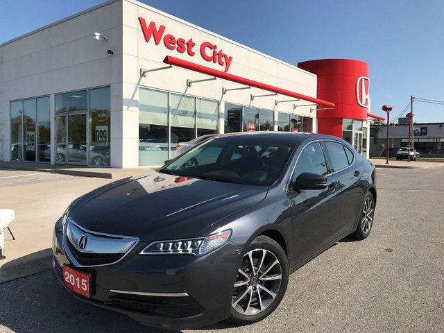 2015 ACURA TLX LEATHER,AWD,LOADED! in Belleville, Ontario