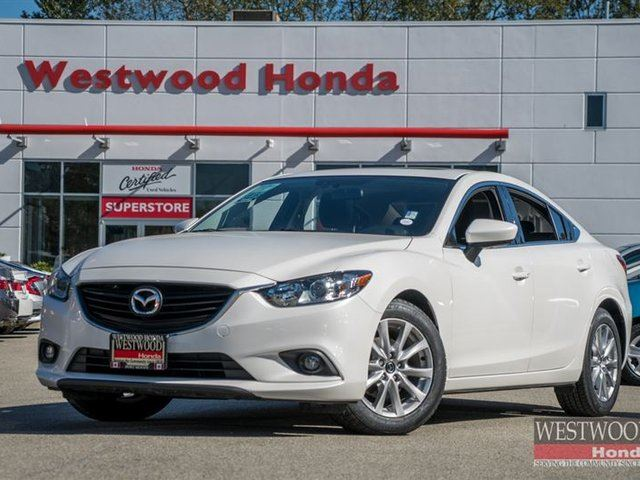 2014 MAZDA MAZDA6 GS Leather. Navigation in Port Moody, British Columbia