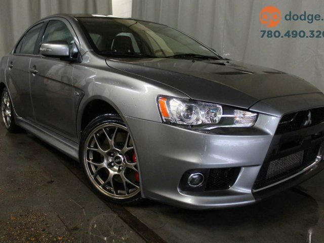 2015 MITSUBISHI LANCER GSR AWD / Sunroof / Heated Front Seats in Edmonton, Alberta