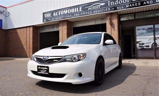 2010 SUBARU Impreza IMPREZA LIMTED WRX AWD MANUAL NO ACCIDENT in Mississauga, Ontario