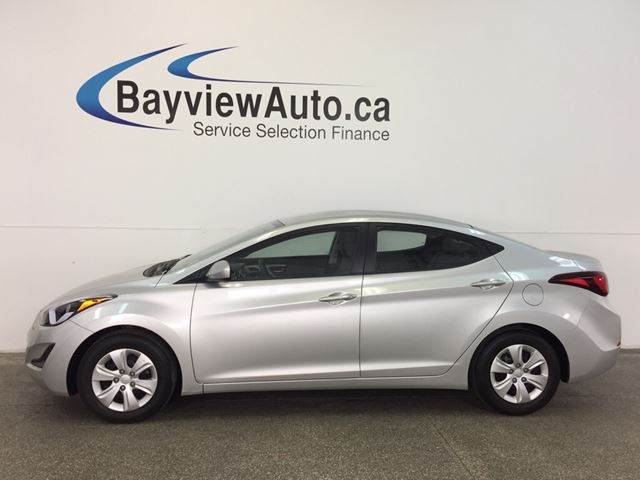 2016 HYUNDAI ELANTRA L- 6 SPD! A/C! FULL PWR GROUP!  in Belleville, Ontario