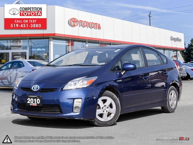 2010 TOYOTA PRIUS Base One Owner, No Accidents, Toyota Serviced in London, Ontario
