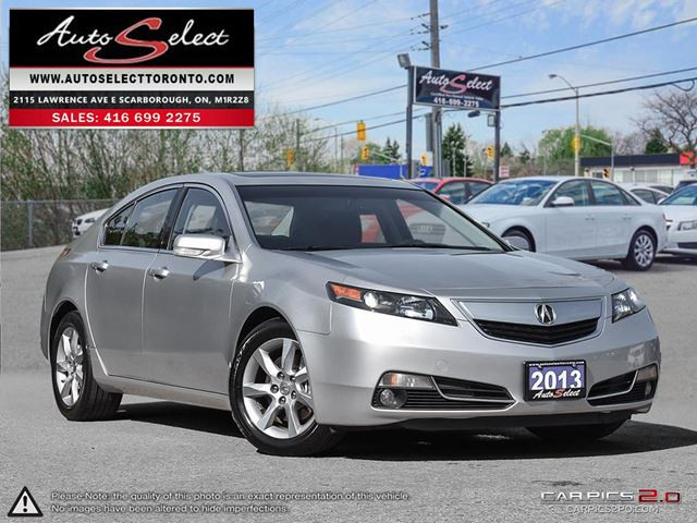 2013 ACURA TL ONLY 101K! **TECHNOLOGY PKG** PREMIUM PKG in Scarborough, Ontario