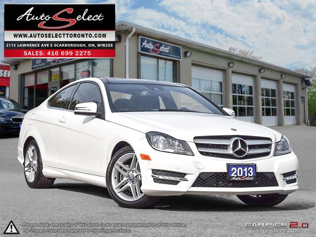 2013 Mercedes-Benz C-Class Coupe C250C ONLY 52K! **NAVIGATION PKG** AMG SPORTS PKG in Scarborough, Ontario
