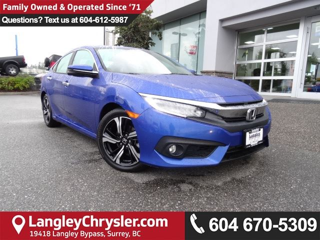 2016 HONDA CIVIC Touring *ACCIDENT FREE*ONE OWNER*LOCAL BC CAR* in Surrey, British Columbia