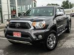 2015 Toyota Tacoma 4WD Double Cab LIMITED-LEATHER+NAVIGATION! in Cobourg, Ontario