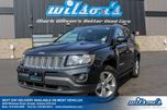 2014 Jeep Compass NORTH 4WD! LEATHER TRIM! BLUETOOTH! POWER PACKAGE! KEYLESS ENTRY! 17 ALLOYS! NEW BRAKES! in Guelph, Ontario