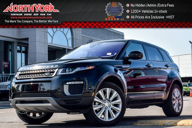 2017 LAND ROVER RANGE ROVER EVOQUE SE AWD ProTechPkg Pano_Sunroof Meridian in Thornhill, Ontario