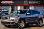 2016 Jeep Cherokee Limited 4X4 PanoSunroof Nav. Leather Backup_Cam R-Start 18Alloys in Thornhill, Ontario