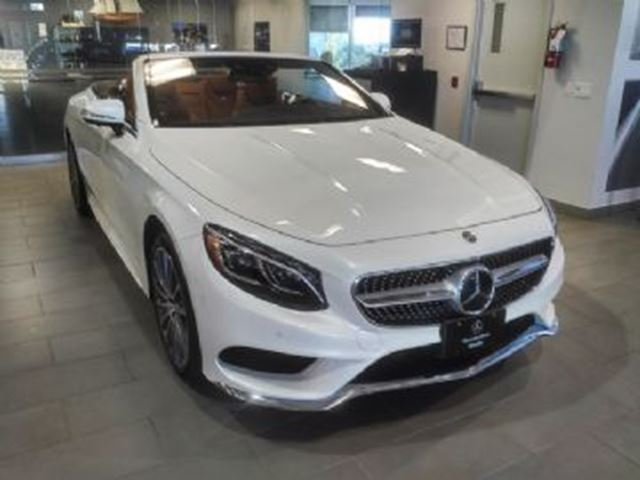 2017 mercedes benz s class s550 cabriolet mississauga for Mercedes benz payment calculator