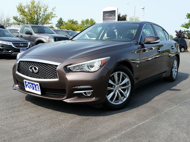 2014 INFINITI Q50 LUXURY AWD SPORT SEDAN-TECH PKG-NAVIGATION in Belleville, Ontario