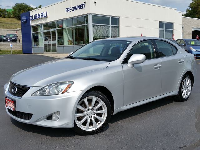 2008 LEXUS IS 250 AWD in Kitchener, Ontario