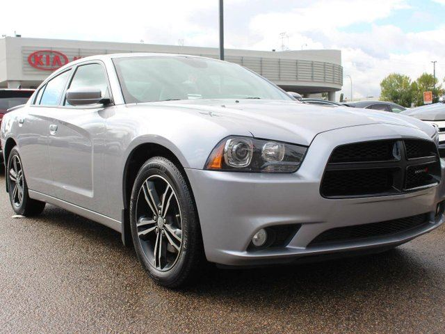 2014 Dodge Charger R/T AWD, HEATED AND COOLED SEATS, SUNROOF, NAVI, BACKUP CAM, CRUISE CONTROL, BLUETOOTH in Edmonton, Alberta