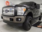 2015 Ford F-250 Lariat King ranch with NAV, heated leather seats, and a back up cam! in Edmonton, Alberta