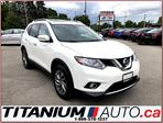 2014 Nissan Rogue SL+AWD+Camera+Pano Roof+Leather Heated Seats+XM+++ in London, Ontario