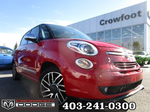 2015 FIAT 500L LOUNGE AUTOMATIC HATCHBACK in Calgary, Alberta