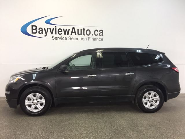 2017 CHEVROLET TRAVERSE - AWD! ALLOYS! 8 RIDER! A/C! REV CAM! ON STAR! in Belleville, Ontario