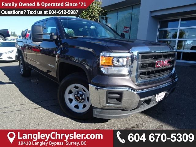 2015 GMC SIERRA 1500 Base *ACCIDENT FREE * LOCAL BC TRUCK* in Surrey, British Columbia