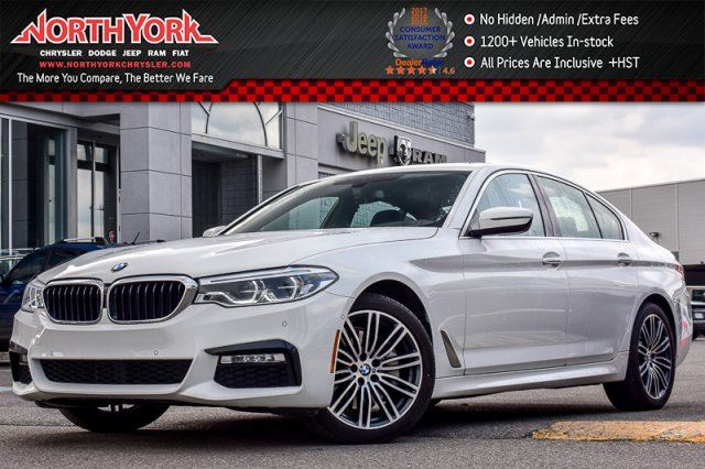 2017 BMW 5 SERIES 530i xDrive M Sport.,Driver Asst.,Lighting,Cold Wthr Pkgs 19Alloys in Thornhill, Ontario