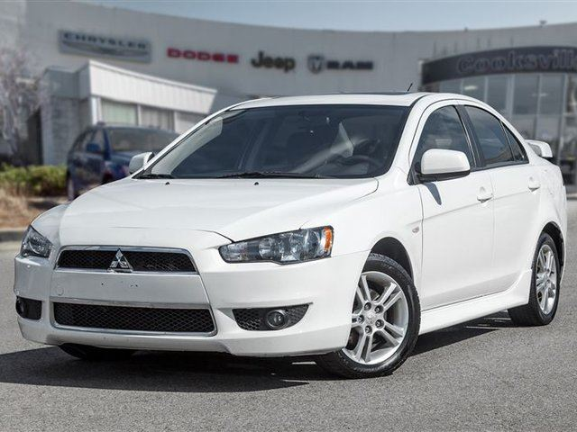 2013 MITSUBISHI LANCER SE, ALLOYS, SUNROOF in Mississauga, Ontario
