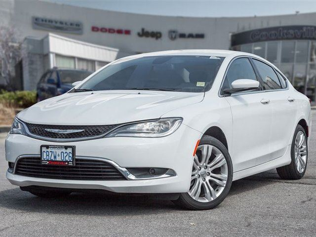 2016 CHRYSLER 200 Limited, BACK UP CAM, BLUETOOTH, ALLOYS in Mississauga, Ontario