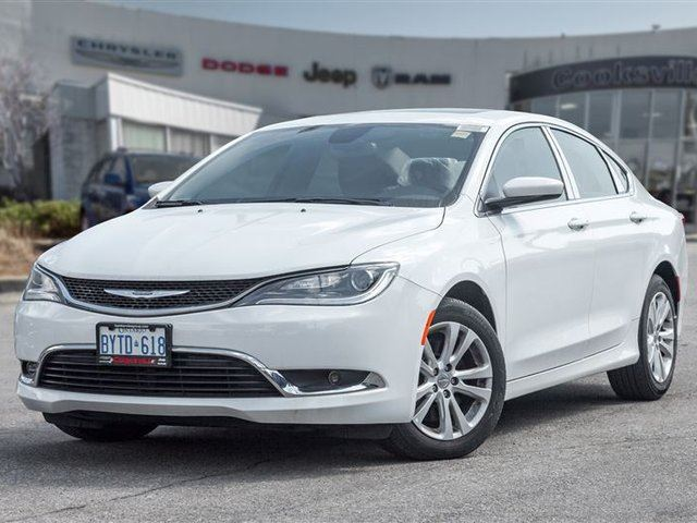 2016 CHRYSLER 200 Limited, SUNROOF, U-CONNECT in Mississauga, Ontario