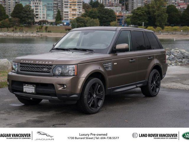 2011 LAND ROVER RANGE ROVER Sport V8 Supercharged (SC) in Vancouver, British Columbia