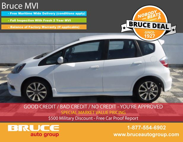 2014 HONDA FIT SPORT 1.5L 4 CYL AUTOMATIC FWD 5D HATCHBACK in Middleton, Nova Scotia