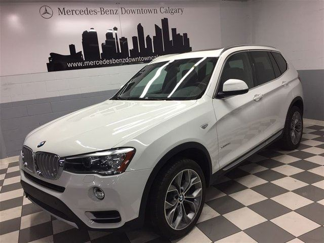 2015 BMW X3 xDrive28d Premium Enhanced Connected Drive++ in Calgary, Alberta