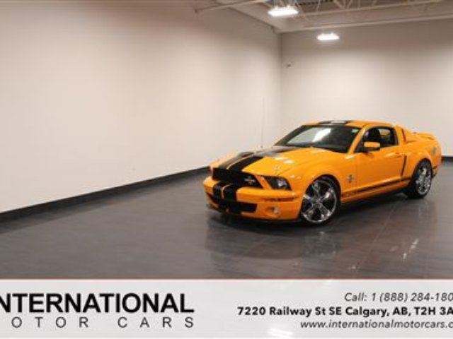 2008 FORD MUSTANG SHELBY GT500! BLOWOUT PRICING!! in Calgary, Alberta