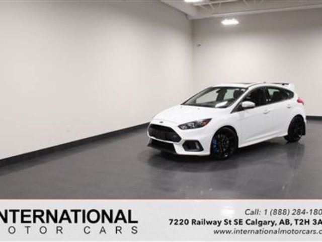 2016 FORD FOCUS RS 350 HP AWD! BLOWOUT PRICING!! in Calgary, Alberta