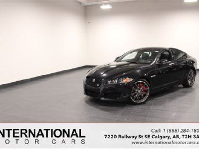 2012 JAGUAR XF XFR S/C! BLOWOUT PRICING!! in Calgary, Alberta