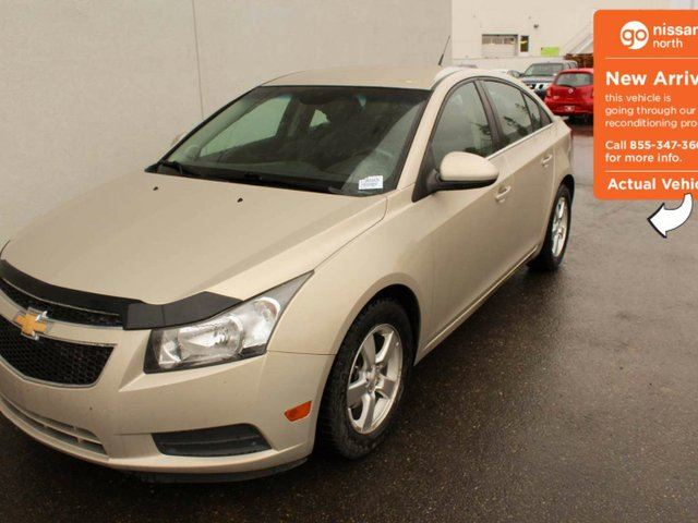 2011 CHEVROLET CRUZE LT Turbo 4dr Sedan in Edmonton, Alberta