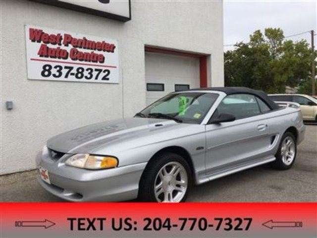 1998 FORD MUSTANG GT in Winnipeg, Manitoba